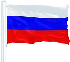 Russia National Flag Russian New 3x5' Ft 150D Polyester Banner Country Flags
