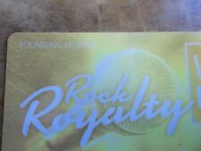 "Hard Rock Casino Player Slot Card Royalty ""Founding Member""- AC Atlantic City"