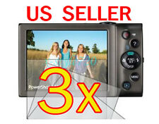 3x Canon PowerShot A3400 A4000 IS Digital Camera LCD Screen Protector Guard Film