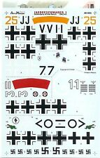 Aeromaster Decal 48-685 Jagdgeschwader I Defenders of the Reich 1942-43
