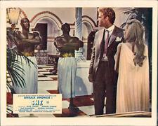 She original lobby card Hammer Ursula Andress John Richardson two guards
