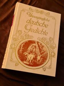 Deutsche Gedichte Gunstig Kaufen Ebay