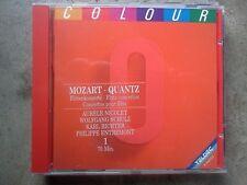 MOZART - QUANTZ -  FLOTENKONZERTE.. - CD COME NUOVO (MIND)