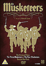 THREE MUSKETEERS/FOUR MUSKETEERS NEW DVD