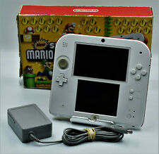 Nintendo 2DS Super Mario Bros. 2 Console - Scarlet Red In Box W Charger