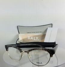 Brand New Authentic SALT Eyeglasses KRIS KRIS Charcoal 50mm Frame