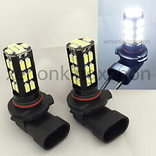 9006-HB4 Samsung LED 30 SMD White 6000K Headlight 2x Light Bulbs #n4 Low Beam