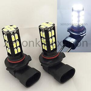 9006-HB4 Samsung LED 30 SMD White 6000K Headlight 2x Light Bulbs #n4 Low Beam