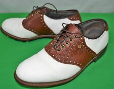 VTG FootJoy Classics Handcrafted in USA Size 7 1/2 D Golf Shoes  Retail $499.00+