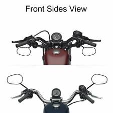 Pairs Side  Mirrors For Harley Softail Road Glide Motorcycle Rearview 1982- 2020