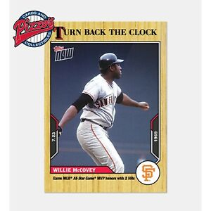 Willie McCovey - 2021 MLB TOPPS NOW Turn Back The Clock - Card 114 Presale