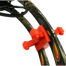 BowJax Revelation Split Limb Dampener, fits 15/16ö Gap, Red 2 Pack