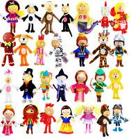 Childrens Fairy Tale Toy Finger Puppets Hand Made Party Bag Stocking Fillers 3+