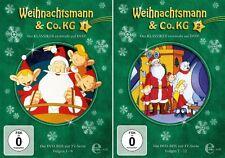 4 DVDs * WEIHNACHTSMANN & CO. KG - BOX 1+2 (FOLGE 1-12) IM SET # NEU OVP &