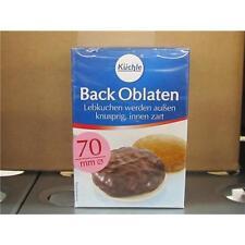 Küchle Back Oblaten Backoblaten rund ø 70 mm 100 Stück