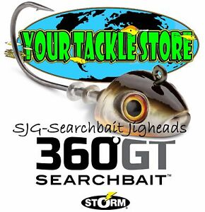 Storm SJG 360GT Searchbait Jig Pick 1/8 1/4 3/8 oz. Color & Quantity NIP