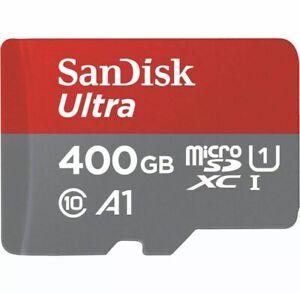 SanDisk Ultra 400GB Micro SD Class 10 MicroSDXC Memory Card - SDSQUAR-400G-GN6MA