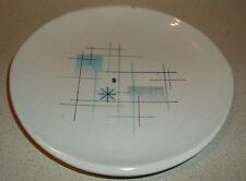 "Vintage Oasis Gladding McBean Franciscan blue gray bread/side plate 6.5"" x 6"""