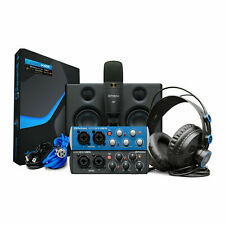 PreSonus AudioBox Studio Ultimate Bundle Complete Recording Kit, Studio Monitors