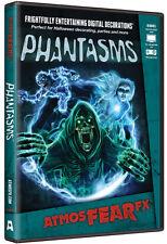 Halloween ATMOSFEARFX PHANTASMS DVD TV WINDOW PROJECTION Haunted Digital Decor