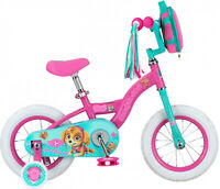 Nickelodeon Paw Patrol Skye Kids Bike, 12-inch Wheel Training Wheels, Girls Pink