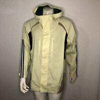 Adidas Snowboarding Jacket All Timers Yellow EC3311 Mens Size Large