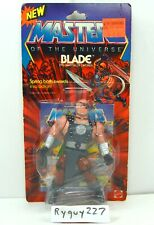 MOTU, Blade, Masters of the Universe, MOC, carded, figure, He Man, MOSC, vintage