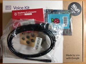 Raspberry Pi 4 2GB w/Google AIY Voice Kit +Raspberry Pi Zero W +Micro HDMI Cable