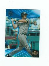 2005 Reflections Blue #31 Aubrey Huff #'d 52/75  TAMPA RAYS