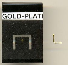 Pinhead Gold Ball 0.8mm Gold Plated Nose Hook Stud Carded