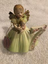 Josef Originals - 7th Birthday - Angel Figurine - Age Seven with Tag - Vintage