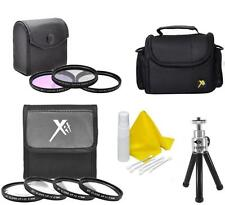 Accessory Kit Filter-Bag-Tripod for Panasonic Lumix DMC-FZ70 FZ72 FZ80 FZ82 FZ85