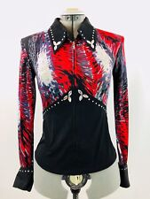 XXLarge Western Show Pleasure Rail Shirt Jacket Clothes Showmanship Horsemanship