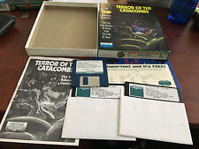 "Terror of the Catacombs by Froggman IBM TANDY PC Game 3.5"" & 5.25"" Floppy Disks"