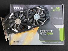 MSI GeForce GTX 1060 OCV1 GDDR5 6GB Gaming Graphics Card