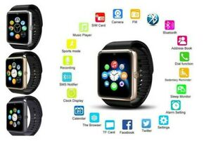 A1 Waterproof bluetooth wrist  phone for IOS/ Android/ Samsung /Apple Rose Gold