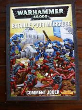 WARHAMMER 40000 - Bataille pour macragge - Comment jouer -  VF