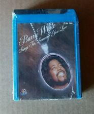 BARRY WHITE - Sings For Someone You Love - 8-Track Cartridge BRAND NEW + SEALED!