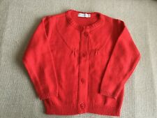 PUDDING- Baby Girl's jumper - SIZE 18 months - Red