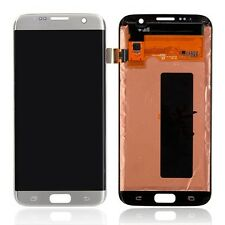 "5.5"" Samsung S7 Edge G935A AT&T LCD Display Screen Digitizer Assembly Silver New"