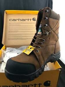 Carhartt 8-Inch Waterproof Insulated Puncture Resistant Boot CMR8939 Size 12W