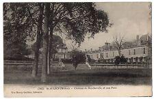CPA 33 - SAINT JULIEN (Gironde) - 7815. Château de Beychevelle et son parc