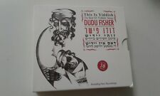 That's Yiddish! by Dudu Fisher  3 CD BOX MINT ISRAELI CD X3
