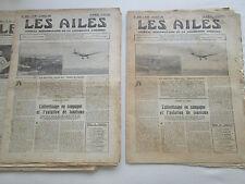AILES 1931 501 POTEZ 42 CAZAUX DIRIGEABLE ZR-S4 SAIGON FARMAN AMSTERDAM BATAVIA
