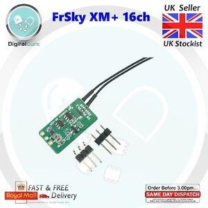 FrSky XM + Plus 16ch Micro Récepteur Rx Sbus Eu-Lbt Firmware-Fpv Course Taranis
