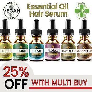 Hair Regrowth Serum Natural Hair Growth Treatment Essential Oil Repair Care