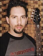 John Petrucci 2005 Ernie Ball Music Man Signature guitar 8 x 11 pin-up photo