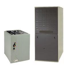 120K BTU 80% Upflow/Horizontal Natural Gas Furnace W/ 5 Ton Cased Coil