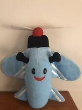 "Stuffins 1999 Cvs Rudolph 7"" Island of Misfit Toys Misfit Plane Blue"