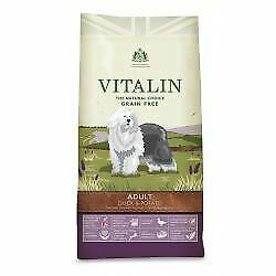 Vitalin Natural Large Breed Duck - 12kg - 259508
